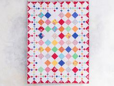 Around the Block Cute as a Blossom Quilt Kit | Craftsy