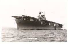 Yorktown class USS Enterprise (CV-6), the most decorated warship of WWII.