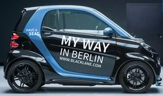 beautiful #smartcar with #chauffeur at Blacklane in Berlin #berlin #blacklane #smartonthego #citylife #fun
