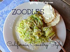 Don't skip this crucial step for preparing Zoodles - ZUCCHINI NOODLES Done Right! CALIFORNIA COUNTRY GAL | REAL FOOD DIARIES