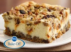 Try this Oatmeal Raisin Cheesecake Crumble recipe, made with HERSHEY'S products. Enjoyable baking recipes from HERSHEY'S Kitchens. Bake today.