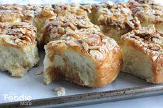 Almond Brioche Sticky Buns from Aida Mollenkamp's cookbook @hipfoodiemom