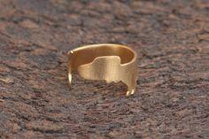 Dachshund Ring , Adjustable Gold Plated Dog Ring by meytalbarnoy on Etsy https://www.etsy.com/listing/175631558/dachshund-ring-adjustable-gold-plated