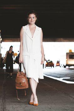 Erin Framel'smatching shoe and bag basically make the world go 'round.