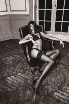 Barbara Fialho Plays Femme Fatale for Dafiti Magazine
