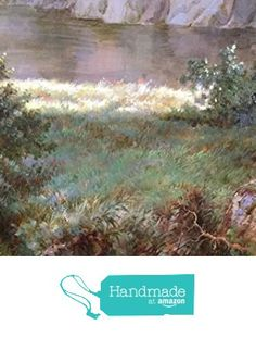 Oil painting-The grass by the river-Hand painted original landscape painting-Artwork for Home Decor-Order scenery painting on canvas without frame-Custom original painting-8 from SunBirdArts http://www.amazon.com/dp/B01AF56SX2/ref=hnd_sw_r_pi_dp_sN5Pwb1QA83BF #handmadeatamazon