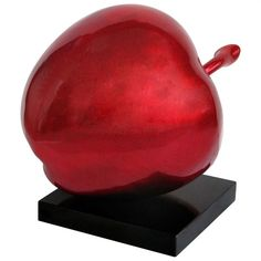Red Apple Hi Gloss Sculpture, 1410746 christmas decoration ideas #diningtabledecorationideas #furnitureinfashion  http://www.furnitureinfashion.net/gifts-and-accessories-c-130_210.html