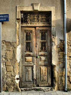 Old door - Nicosia, Cyprus