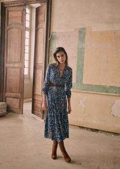 Midi Shirt Dress, Dress Skirt, Transport Routier, Mix Clothing, Parisian Style, Mom Style, Minimalist Fashion, Minimalist Style, Skirt Outfits
