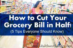 Utah Sweet Savings: Our Top 5 Money Saving Grocery Tips (as seen on Fresh Living)