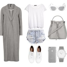 Grey Duster by fashionlandscape on Polyvore featuring Mode, MANGO, Boutique, One Teaspoon, Acne Studios, Topshop, Larsson & Jennings, Case-Mate and BCBGMAXAZRIA