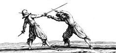 En la segunda década del siglo XVII, el gran grabador francés Jacques Callot realizó una serie de grabados titulada Caprichos, en la que se incluían varias representaciones de duelos entre caballeros. El realismo de las imágenes resalta la tensión y la violencia de estos sangrientos combates.