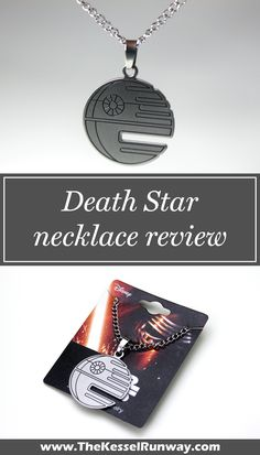 Death Star necklace review - The Kessel Runway