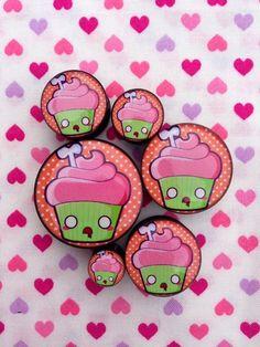 zombie cupcake plugs