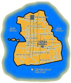 Map of Tenochtitlan