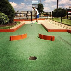 Putt-Putt Fun Center - Game & Entertainment Centers - Showcase your golf skills on this golf course and have your kids experience playing in the Putt-Putt Fun Center