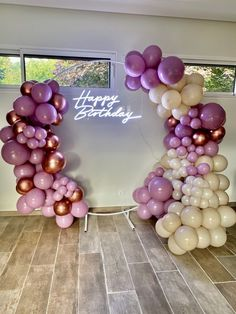 18th Birthday Party Themes, 21st Bday Ideas, Birthday Balloon Decorations, Birthday Balloons, Birthday Party Decorations, Purple Birthday, Happy Birthday, Balloons Galore, Coin Photo
