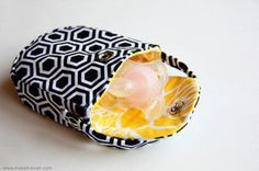 fabric pacifier tote