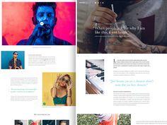 Magazine Article by Bart Ebbekink #Design Popular #Dribbble #shots