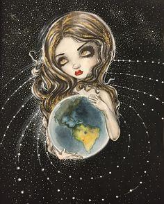 Мир в надежных руках 😆🌎 #раскраска #coloringbook #jasminebecketgriffith #watercolor #mylovelycoloring