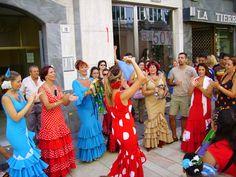Flamenco dancers, Malaga, Spain