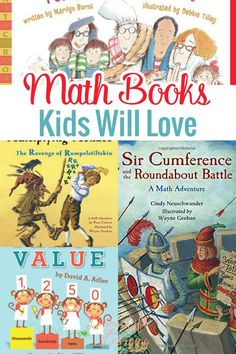 TEACH YOUR CHILD TO READ - Using books for Math is really helpful. They bring fun to the mix and make it easier to learn. I am very excited to bring you a fun list of Math books kids will love. Super Effective Program Teaches Children Of All Ages To Read. Math For Kids, Fun Math, Math Games, Math Activities, Math Math, Multiplication Activities, Math Literacy, Guided Math, Learning Games