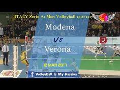 HD Modena Vs Verona 12 Mar 2017 Play Offs  ITALY Serie A1 Men Volleyball...