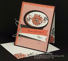 Pals Paper Crafting Card Ideas Wildflower Fields Mary Fish Stampin Pretty StampinUp