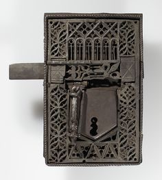 Lock Date: 15th–16th century Culture: European Medium: Iron