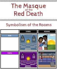 the masque of the red death symbolism