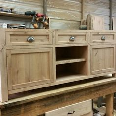 New Construction custom sideboard Table. Contact us for custom orders Credenza Sideboard, Tv Sideboard, Custom Sideboard, Outdoor Kitchen, Furniture, New Construction, Sideboard Table, Home Decor, Media Console