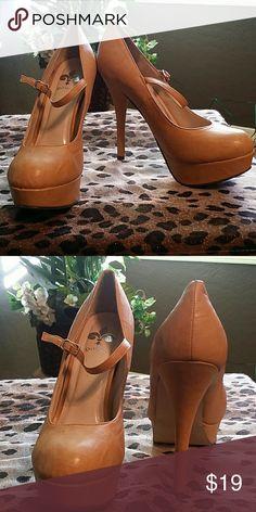 9d8762ee7248de Mary Jane Heels   Beautiful   Mustard Color   5.5 Heel   Worn a couple