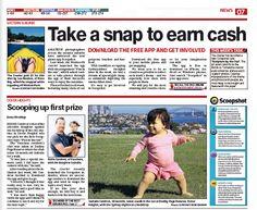 News Ltd Australia Wentworth Courier goes Scoopshot