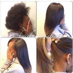 PERFECT PONY SEW-IN HAIR WEAVES by Natalie B. (312) 273-8693...IG: @iamhairbynatalieb...FACEBOOK: Hair by Natalie B.     .....ORDER HAIR: www.naturalgirlhair.com.