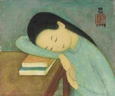 View Couchage jeune femme Young lady resting by Mai Trung Thu on artnet. Browse upcoming and past auction lots by Mai Trung Thu. People Reading, Girl Reading Book, Reading Art, Woman Reading, Reading Books, Figure Painting, Painting & Drawing, I Love Books, Books To Read