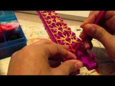 ▶ Crazy loom starburst bracelet - YouTube