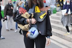 Natasha Goldenberg | #loewe #streetstyle