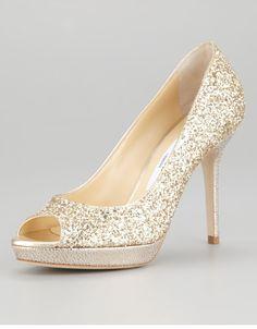 Jimmy Choo: glitter heel