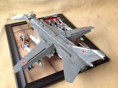 1/48 scale Trumpeter, Russian SU-24 Fencer D, by ademodelart