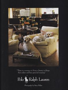 Ralph Lauren Home Archives, Unknown collection, Living Room, 1984