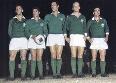 Libertadores 1968: Suingue, Tupãzinho, Servilio, Ademir Da Guia e Rinaldo