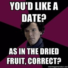 Oblivious to Relationships Sherlock. But that's what makes him Sherlock.