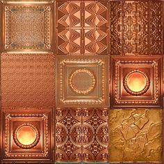 Copper Ceiling Tiles Panels