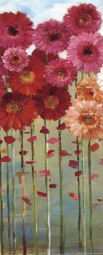 Daisies Spring II, Art Print by Danhui Nai