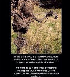 Creepy scary