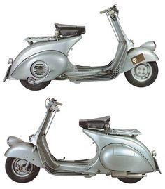 Scooter Garage, Lambretta Scooter, Vespa Scooters, Vespa Ape, Piaggio Vespa, Vintage Vespa, Triumph Motorcycles, Ducati, Motor Cafe Racer