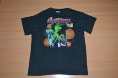 Vintage 90s THE DOORS Jim Morrison Tour Concert rare promo T-shirt by OldSchoolZone on Etsy