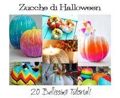 20 Tutorial per Decorare la tua Zucca di Halloween!