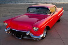 1957 CADILLAC SERIES 62 CUSTOM 2 DOOR HARDTOP - Front 3/4 - 83214
