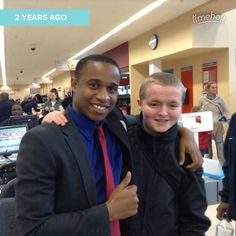 Time has flown. Exactly 2 years ago today since I finished my last day of work experience at Tesco.